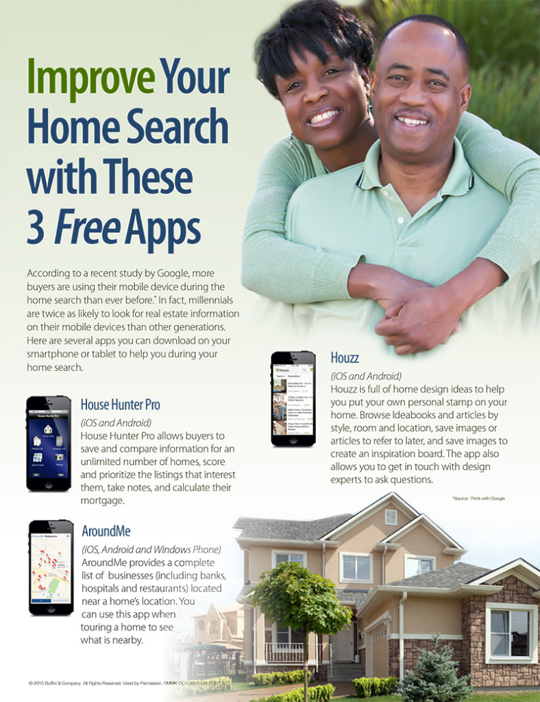 Improve Your Home Search with These 3 Free Apps
