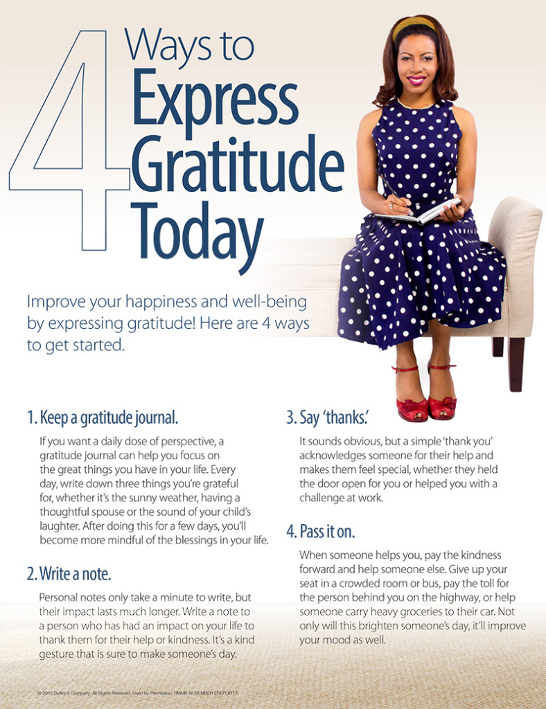 4 Ways to Express Gratitude Today