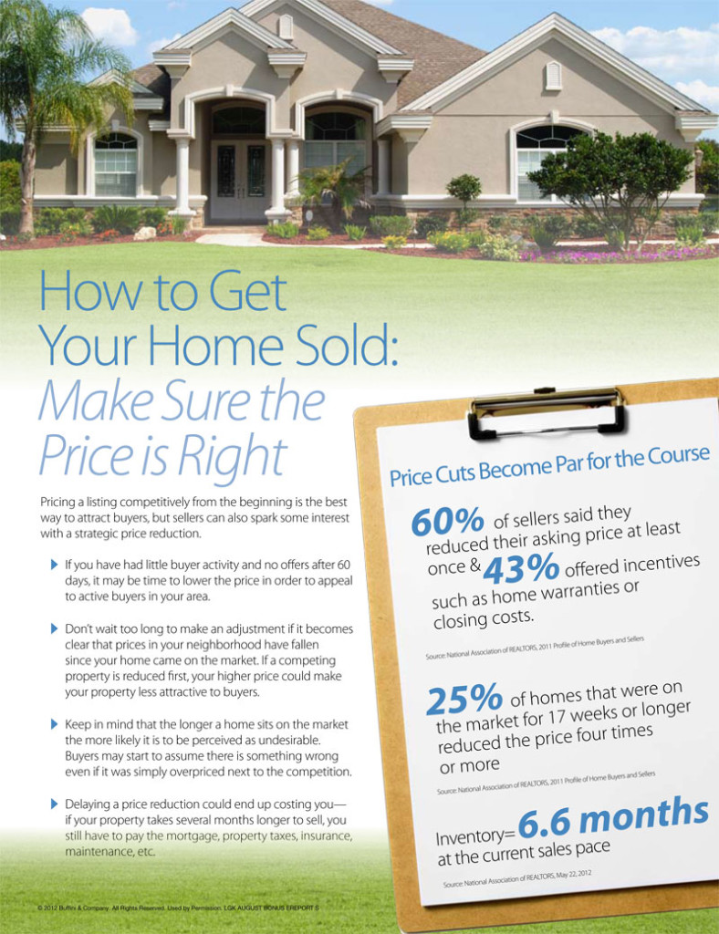 How to Get Your Home Sold
